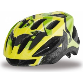Specialized Flash Hlmt Ce Hyp Grn Hurricane Youth