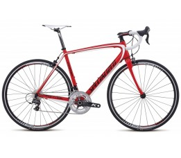 Specialized Tarmac Comp M2 Showroommodel, Rood / zwart / wit