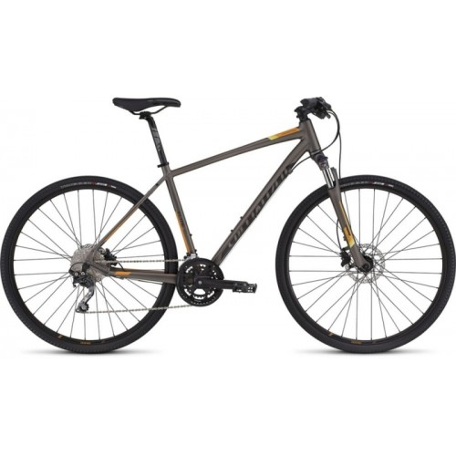 Specialized Ct Elite Disc, Gunmetal/orange/black