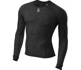 Merino Layer Ls Blk L
