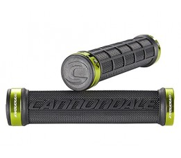 Cannondale Grips DC dual lockon green rings