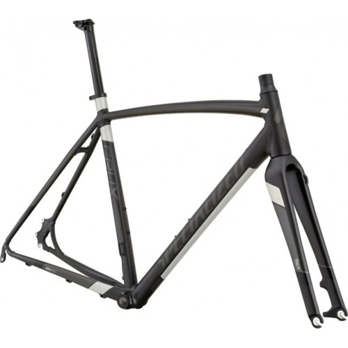 Specialized Crux E5 Frmset, Nearly Black/charcoal/sil/blk