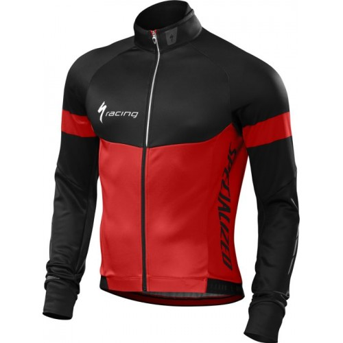 Specialized Therminal Jersey Ls Red/blk Team M