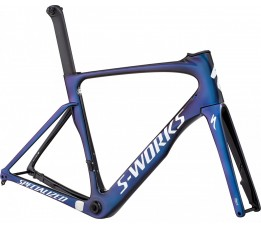 Specialized Sw Venge Disc Vias Frmset, Tarblk/cmln/metwhtsil