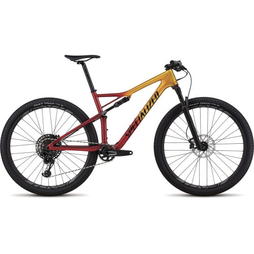 Specialized Epic Men Expert Carbon 29, Gloss Gold Flake/Candy Red/Cosmic Black
