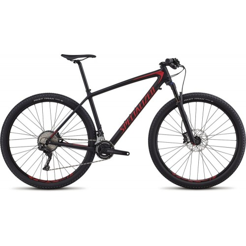 Specialized Epic Ht Men Comp Cb 29 2x, Black/flo Red