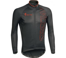 Specialized Authentic Team Partial Jacket Blk/red Xxl