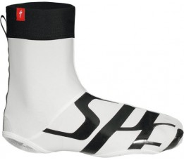 Specialized Wordmark Shoe Cover Wht/blk S