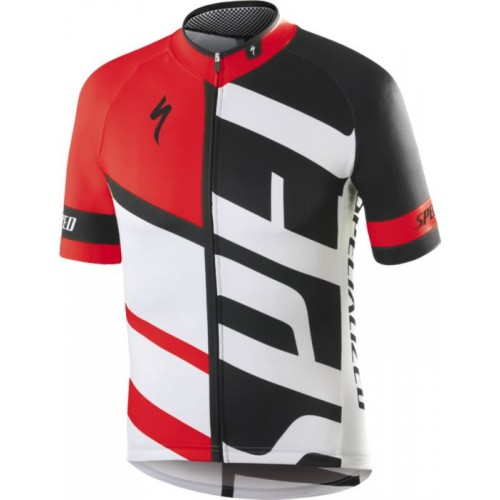 Rbx Comp Youth Jersey Ss Red/blk/wht L