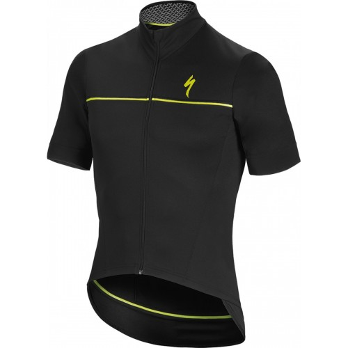 Deflect Sl Elite Wr Jersey Ss Blk/neon Yel M