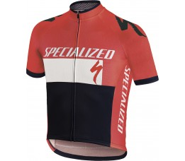 Rbx Comp Logo Youth Jersey Ss Red/wht/blk L