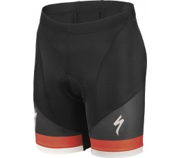Rbx Comp Logo Youth Short Blk/red/wht L