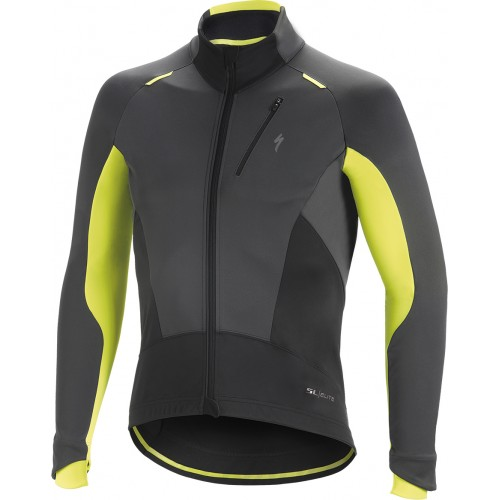 Element Sl Elite Jacket Anth/neon Yel L