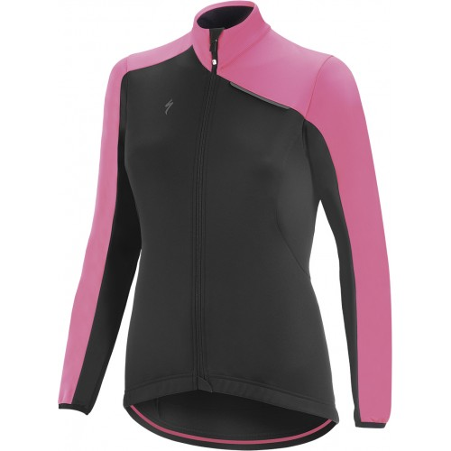 Element Rbx Sport Jacket Wmn Blk/neon Pnk L