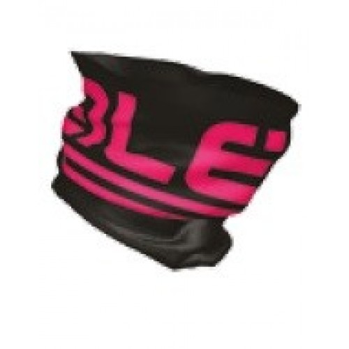 ALE head cover tubular calda frost BLK Fluo Pink