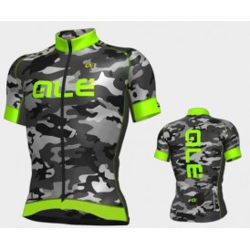 ALE ss jersey graphics camo M groen