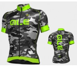 ALE ss jersey graphics camo L groen
