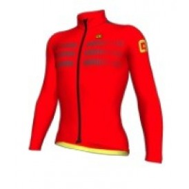 ALE  ls jersey clima protection 2.0 warm air Fluo-orange 3XL