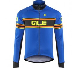 ALE jacket solid  blue-fluo Yellow mt XXL