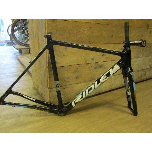 Ridley X-night disc frameset, Zwart/wit/blauw