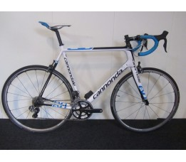 Cannondale Supersix evo sm Ult DI2, Wht/blk/blue