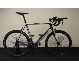 Cannondale Supersix Ultegra DI2, Zwart / Wit